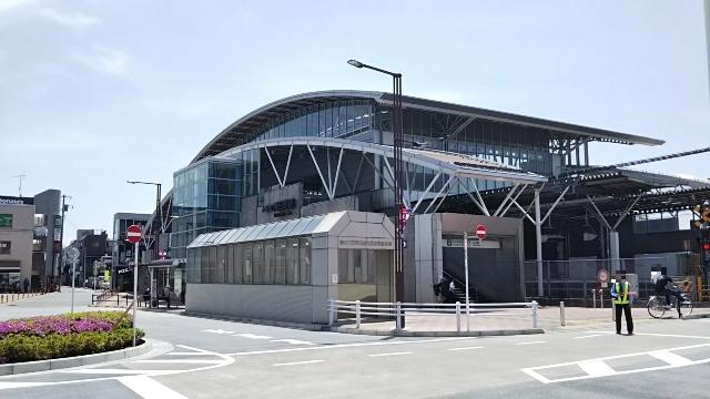 飛田給駅の外観
