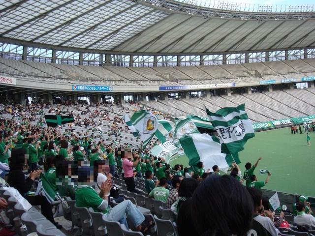 スタジアムの観客