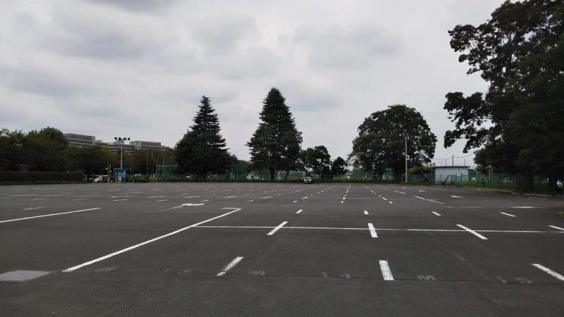 味の素スタジアム北側駐車場