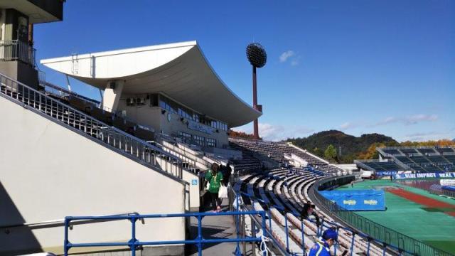 スタジアムの屋根